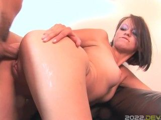 Street Pickup of a Teen Brunette by BBC