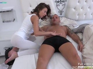 Lovely masseuse Sandra Wellness gave a happy ending - by Only3x