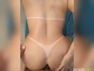 Cute Blonde First Fucked In The Ass