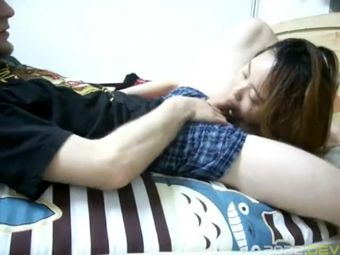Taiwanese Girl in Fishnet Rough Sex