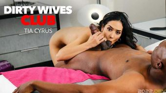 DirtyWivesClub Tia Cyrus Has Permission From Husband To Fuck Whomever When She\'s Away On Business