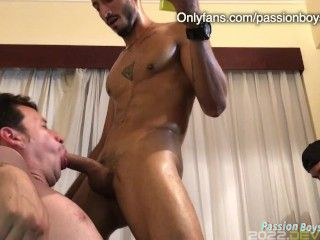 My stepfather me, and my friends orgy