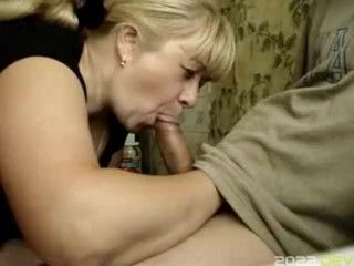 stepmother helps son to relax