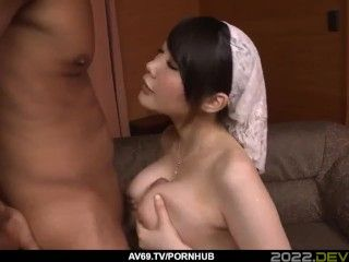 Rie Tachikawa loves the big black dick in her tiny cunt - More at 69avs com