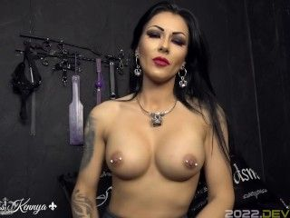 Mistress Kennya: Too strong for you loser