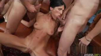 extreme hot party doublepenetration orgy