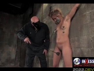 INXESSE RADICAL IRIS LOVE HOGTIED TEASED BY THE MASTER #2-BDSM EXTREME XXX