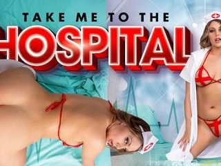 VRConk Busty Nurse Has Naughty Treatment For You VR Porn