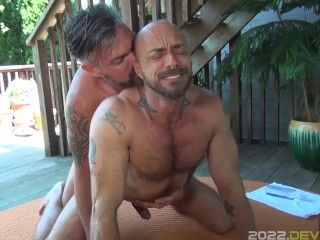 Hunk Jessie Colter Rimmed and Fucked Raw by Uncut Daddy