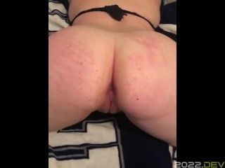 Post squirt pussy play