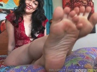 Quick Sole Seduction for Beginners, Part I: Worship & JOI