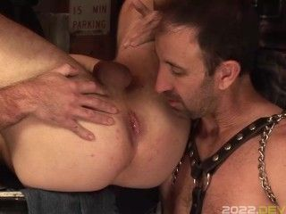 Boy Fucked and Bred in the Garage