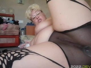 pussy fuck, spread,speculum, cervix show,pussy cum through black panty,panty stuffing