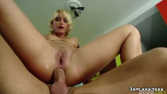 Cathy Cambell in Cathy Campbell Gets Her Asshole Pounded - 3amXxx