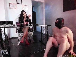 Mistress Kennya: Ignoring and humiliating the bitch