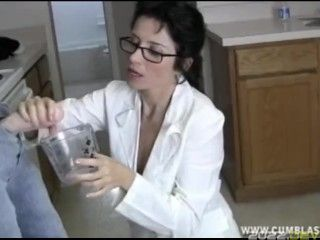 Sexy Doctor Cum Extraction