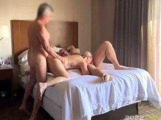 Phoenixxx takes on two guys in a hotel room