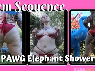 PAWG Elephant Shower - Rem Sequence