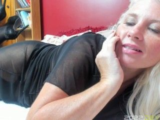 Curvy MILF Rosie: Milfy Catches You With Panties and Seduces Your Cum Load POV Ass Fuck Virtual Sex