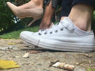 High Heels & Converse Sneakers Shoeplay Outdoors Preview