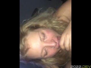 Watch me suck daddy's dick